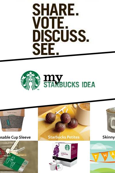 My Starbucks Idea Platform