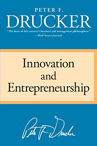 Innovation and Entrepreneurship Book Cover