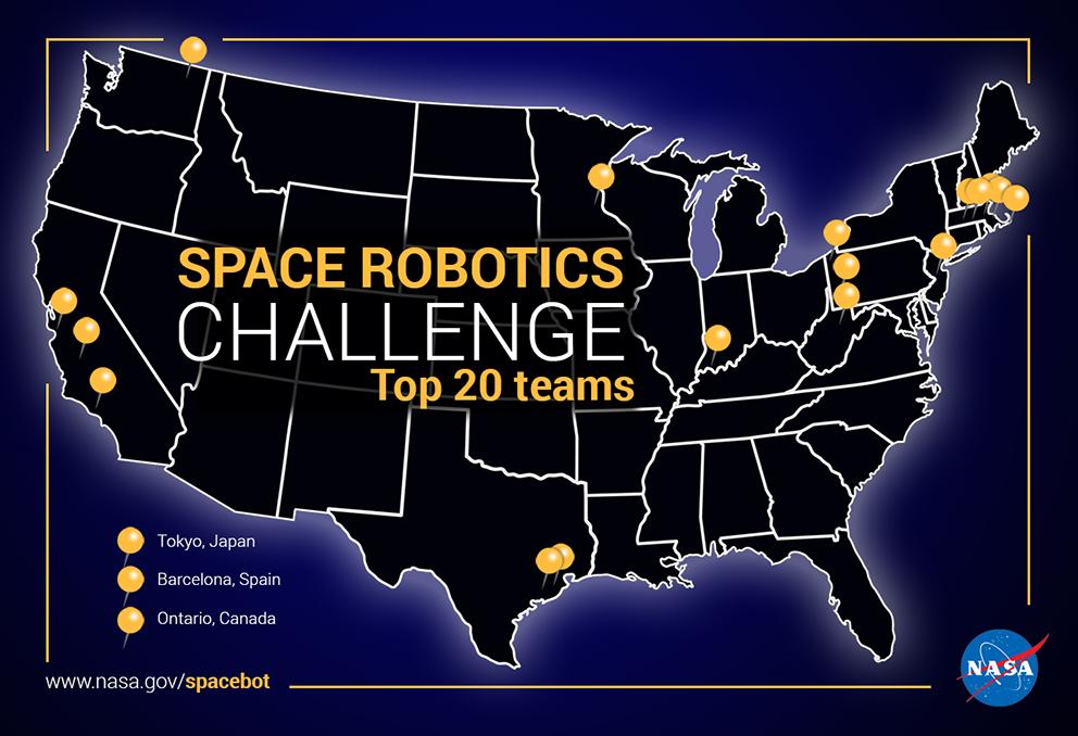 Space Robotics Challenge Finalists