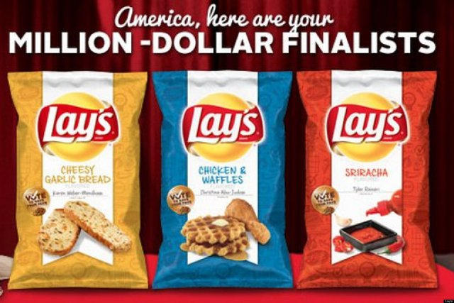 Lays Chips Finalists